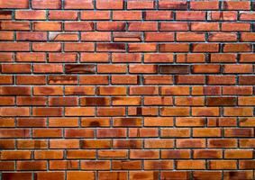muro di mattoni texture di sfondo foto