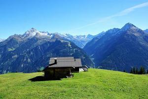 paesaggio di montagna in austria foto