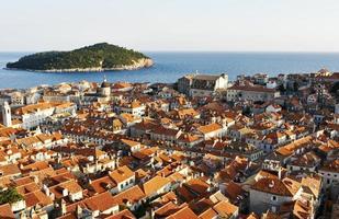 città vecchia città costiera foto