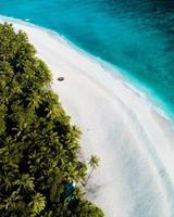 fotografia aerea della spiaggia