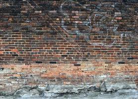 sfondo muro di mattoni foto