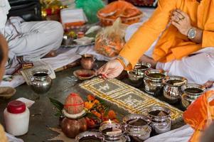 rituali di matrimonio in india foto