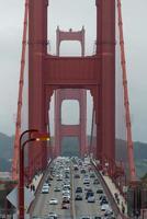 vista del golden gate bridge foto