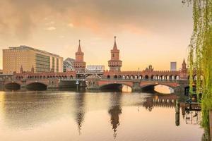 skyline di berlino in germania