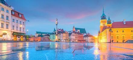 città vecchia a varsavia, polonia