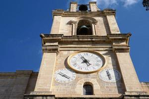 torre dell'orologio a La Valletta