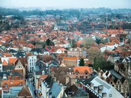 veduta aerea di edifici della città