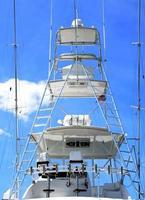 ponte volante di una barca foto
