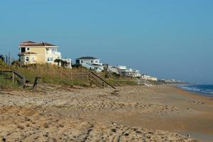 case sulla spiaggia in florida foto