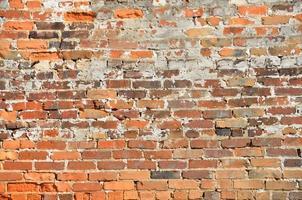vecchio muro di mattoni