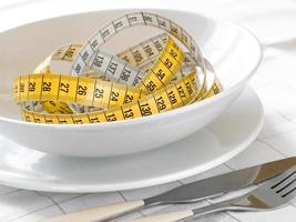 concetto di dieta foto