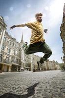 ballerino di strada foto