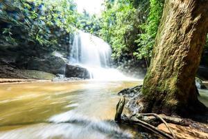 Sam Rong Kead cascata Sisaket Thailandia foto