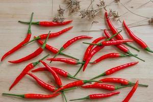 peperone rosso isolato