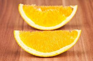 arancia a fette foto