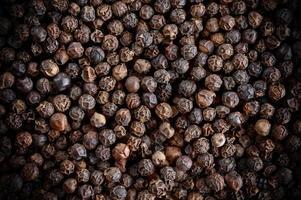 sfondo di grani di pepe foto