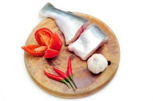 pangasio o pesce gatto vietnamita foto
