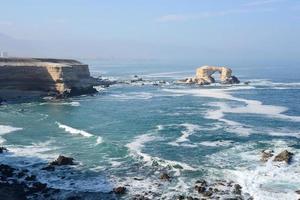 la portada (arch rock) ad antofagasta, cile foto