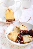 biscotti di pasta frolla fatti in casa foto