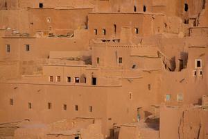 ait ben haddou kasbah medievale in marocco foto