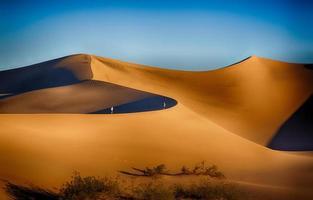 dune della valle della morte foto