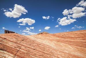 bellissimo paesaggio, valle del fuoco, Stati Uniti d'America. foto