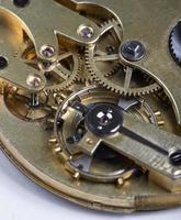 orologio da tasca a orologeria foto