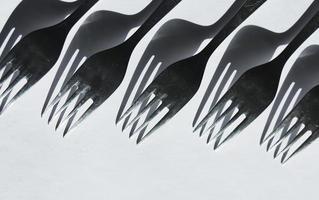 concetto di forchette da cucina foto