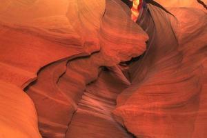 antelope canyon - formazioni rocciose foto