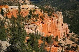 rare formazioni rocciose del parco nazionale di bryce canyon foto