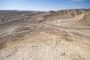 valle di zin, negev, israele foto