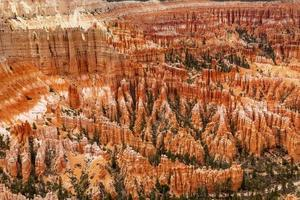 hoodoos inspiration point parco nazionale di bryce canyon utah