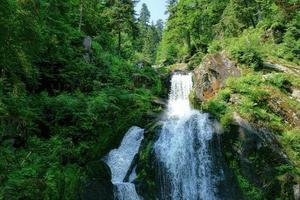 cascate di triberg nella foresta nera, germania