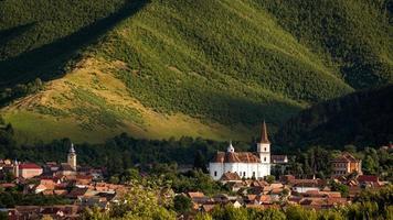 villaggio rasinari a sibiu, transilvania romania foto