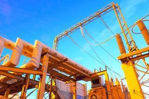 apparecchiature elettriche industriali ad alta tensione foto