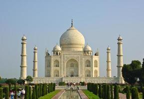 Taj Mahal, India foto