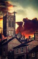 cattedrale di lincoln foto
