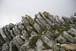 punto di vista della guardia forestale a el burgo, malaga, spagna
