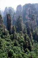 montagne misteriose zhangjiajie, provincia di Hunan in Cina.