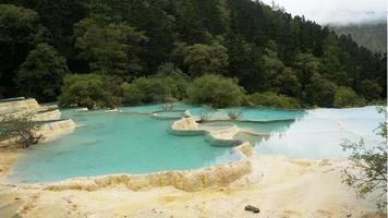 valle di jiuzhai foto