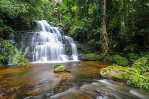 cascata di mun daeng, parco nazionale di phu hin rong kla, thailandia