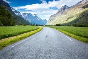 strada in norvegia