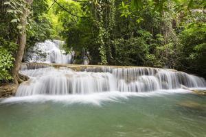 huai mae khamin cascata a kanchanaburi
