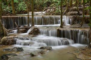 huay mae khamin, cascata