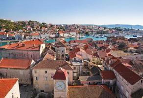città di trogir in croazia foto