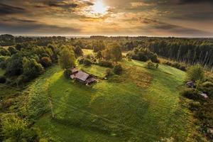 castello di trakai in litaunia foto