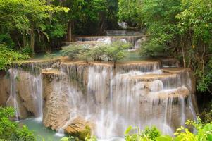 cascata huaymaekamin foto