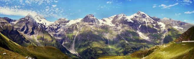 panorama delle alpi foto