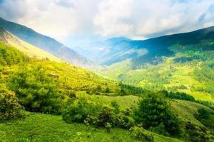 montagne himalayane foto