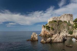 dubrovnik in croazia foto